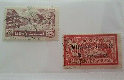 Used Lebanese Stamps #4