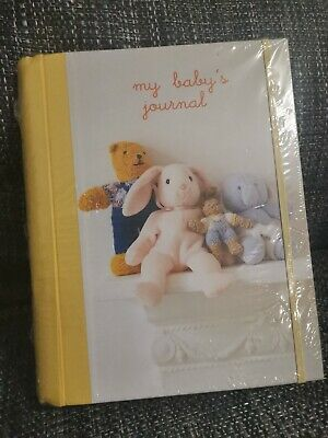 Girls Or Boys My Baby's Journal Baby Record Book New & Sealed