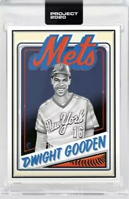 TOPPS PROJECT 2020 CARD 1985 TOPPS DWIGHT GOODEN #65 by MISTER CARTOON Presale