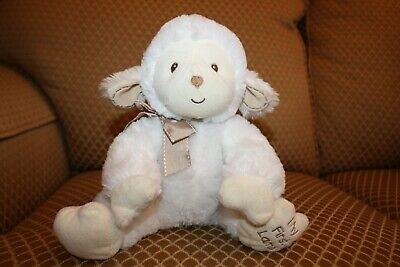 2013 Kids Preferred Baby My First Lamb Plush Brown Ribbon