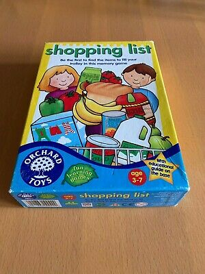 Orchard Toys - game of 'shopping list' (age 3-7 years)
