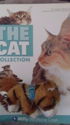 The Cat Collection part work - magazine and cat  - part 7