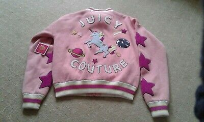Juicy Couture Kids Unicorn Bomber Jacket Age 10 Years **Brand New With Tags**