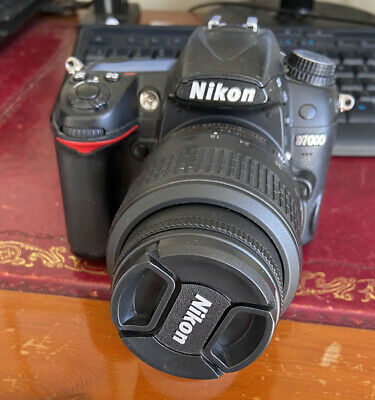 NIKON D7000 16.2MP DSLR Camera with 18-55mm AF-S VR Lens Please read description