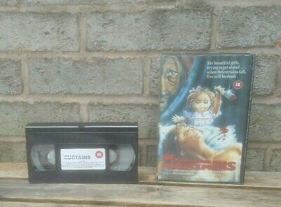 Curtains- Vhs Film / Very Rare Vhs Classic Horror / Used Condition