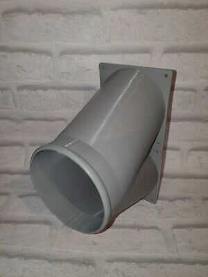 "Antminer DR5 S11 S15 T15 S17 T17 Z9 Z11 5"" Double fan duct GREY"