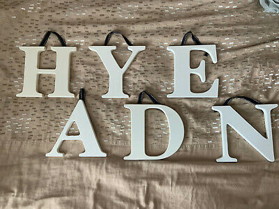 """Hanging Wall Letters 7.75"""" Tall"""