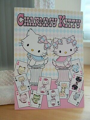 2006 Charmmy Kitty (Hello Kitty's Pet) Notes & Stickers set (4 stickers missing)