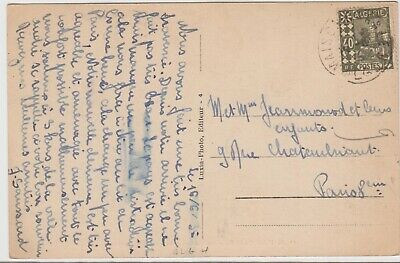 ALGERIE cover lettre Postmarked Maison-Carree, 16 June 1935