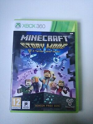 MINECRAFT STORY MODE XBOX 360 GAME Disc Great Condition