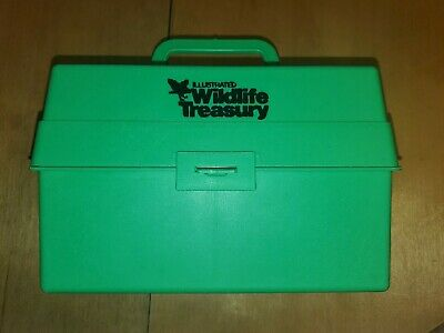 Illustrated Wildlife Safari Treasury Animal Storage Box 900+ Fact Cards 1975