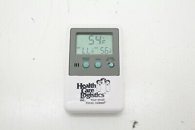 HealthCare Logistic 10368 Memory Monitoring Refrigerator Freezer Thermomer~17188