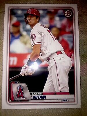 2020 Bowman Base Paper Card Shohei Ohtani Angels # 26