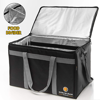 Insulated Food Delivery Bag Hot And Cold Thermal XXL Commercial Catering Bag Dur