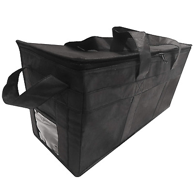"""Insulated Delivery Grocery Bag Carrier 22"""" X10"""" X10"""" Ideal For Uber Eats Postmat"""