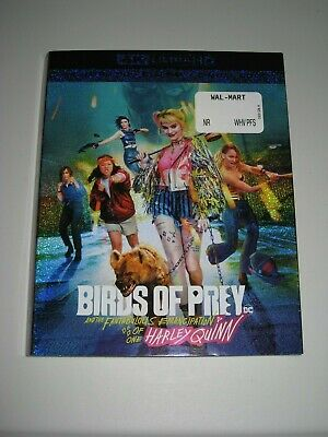 Birds of Prey Harley Quinn (4K Ultra HD slip cover only)No Disc No Blu Ray