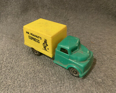 RARE Vintage 1960's Mr. Peanut's Express Truck - Pyro #5 Green/Yellow