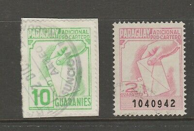 Paraguay revenue stamp Fiscal - 5-24-20 -
