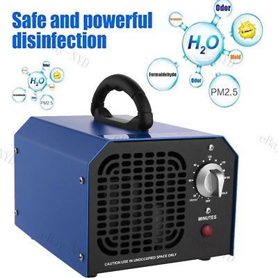 Ozone Generator 6000mg Commercial Ozone Air Purifier Portable 3 Hours Timer Hold