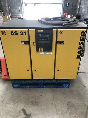 Kaeser AS31 Rotary Screw Compressor 18.5Kw, 110Cfm Low Hours Used