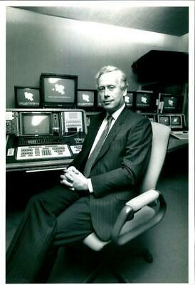 Banks, John in his office - Vintage Photograph