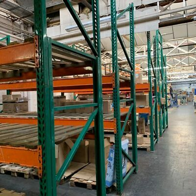 Heavy Duty Factory Industrial Pallet Racking with Frames, Boards and Decks