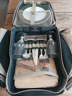 Picnic Set Backpack With Coolers For 2 The Greenfield Collection
