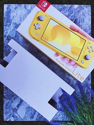 Official Nintendo Switch Lite EMPTY BOX Only Packaging - Yellow - LLSF5