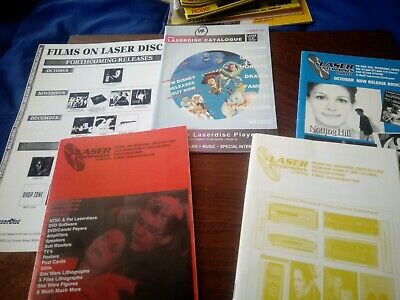 LASERDISC CATALOGUE ODDS *Pen Marked/Highlighted*