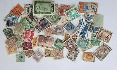 Mixed World Stamps Joblot 50 stamps  - used.