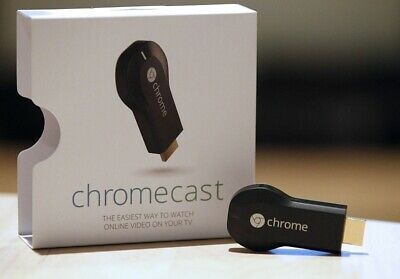 Google Chromecast - 1st Generation H2G2-42 - HDMI Media Streaming Device - NEW!!