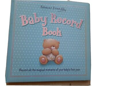 Forever Friends Baby Record Book baby's first year record