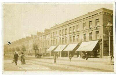 RP MAIDA VALE Shirland Road SHOPS Animated by Bells LONDON W9