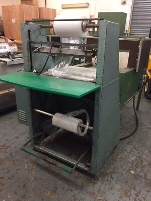 Shrink wrap wrapping tunnel shrink wrapper machine bottles/cans USED £900+vat