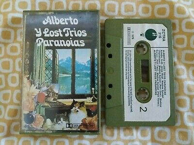 Alberto Y Lost Trios Paranoias - Self Titled Cassette Tape 1976 Blackhill Music
