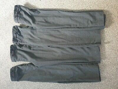 Girls Age 5-6 Charcoal Grey School Trousers