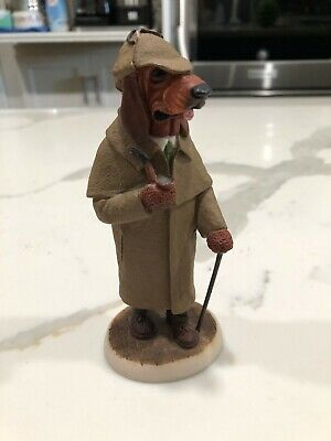 Country Companions Bloodhound CC26 - Sherlock Holmes Outfit