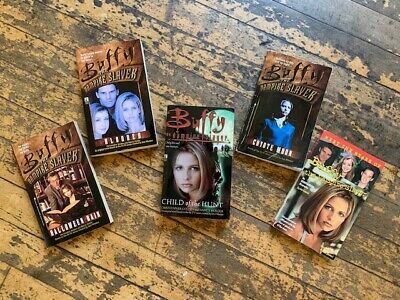 Buffy the Vampire Slayer Paperback Books - Lot of 5