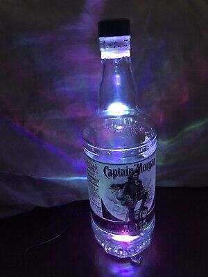 Captain Morgan Color Changing Light Lamp Bar Decor Man Cave