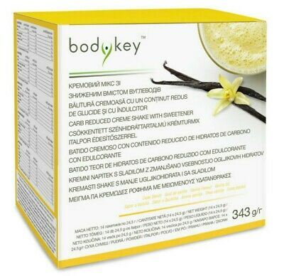 bodykey™ Carb Reduced Vanilla Shake 14 Sachets from Amway