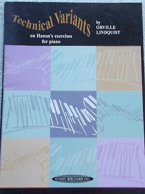 Lindquist Technical Variants Hanon's Exercises for Piano