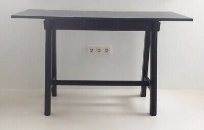 "Spainish ""Castellano"" Style Console/Sideboard/Desk In Black."
