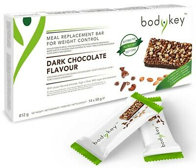 bodykey meal replacement bar - dark chocolate by NUTRILITE™ Amway - 14 bars