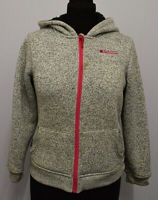 Sw895 Mountain Warehouse Girls Jumper Hooded  Age 11-12 Years