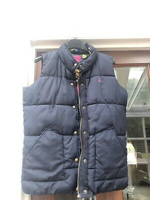 joules girls gilet 11-12 Years Navy