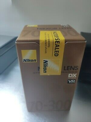 Nikon AF-P DX NIKKOR 70-300mm f/4.5-6.3G ED VR Lens- unwanted new sealed box