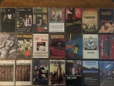 You Pick Cassette Tapes: 80s, 90s, New Wave, Synth, Rock, Rap