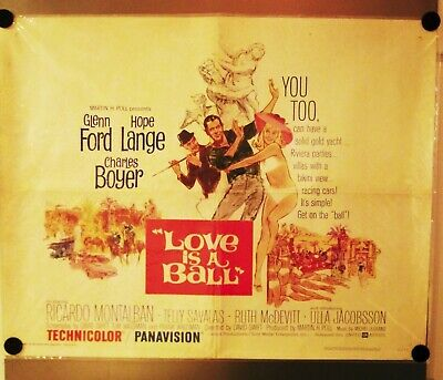 Love Is A Ball Movie Poster - Original