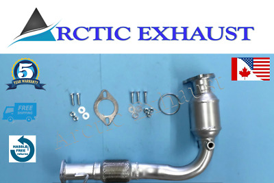 Fits: 10-14 Chevrolet Equinox 2.4L Front Catalytic Converter Direct-Fit