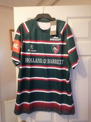 Leicester Tigers Xl Rugby shirt Bnwt 19/20